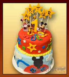 Club House Disney Birthday cake