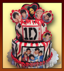 1D personilized cake