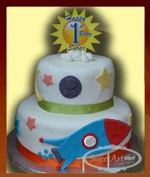 space ship cake
