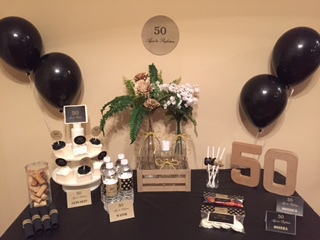 50th Birthday Party Aged to Perfection