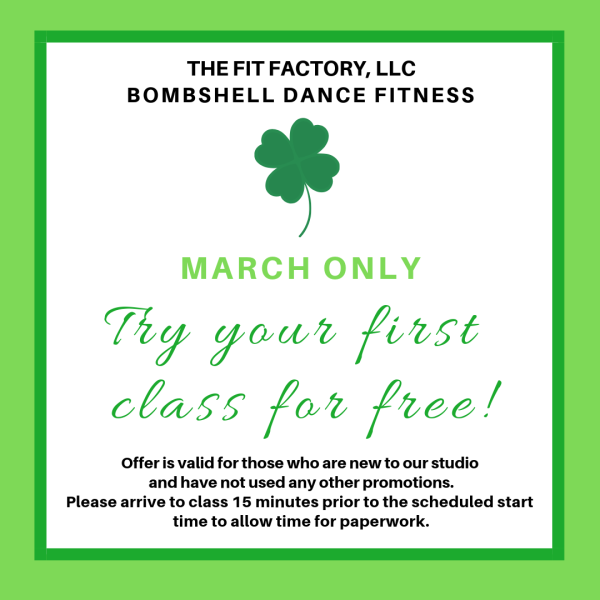 Your first class is FREE!