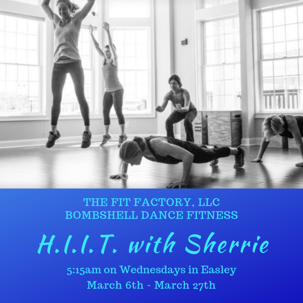 Join Sherrie for HIIT