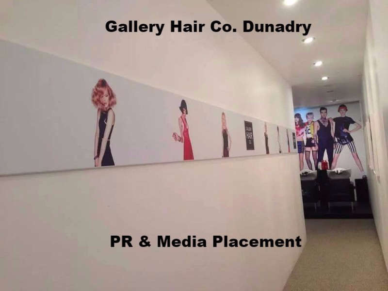 Spotlight works with Gallery Hair Co, Dunadry  for enhanced PR and media exposure