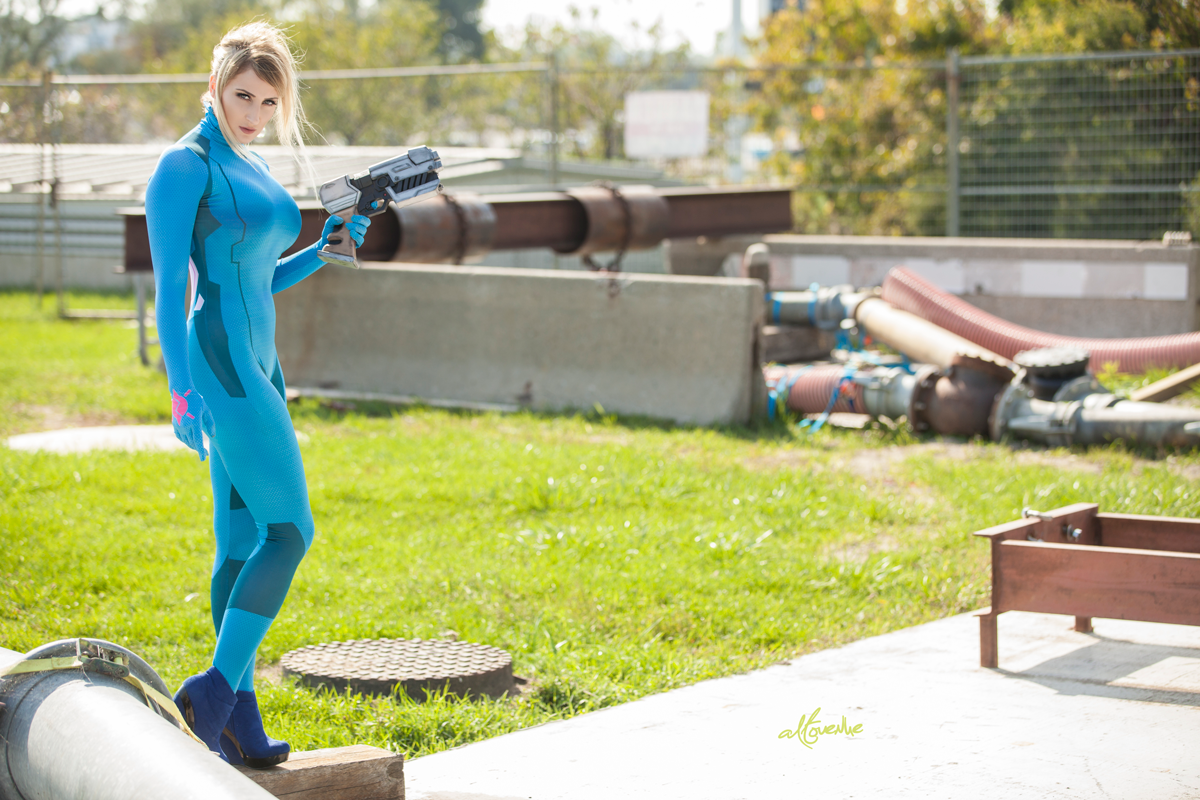 Zero Suit Samus Photoshoot!