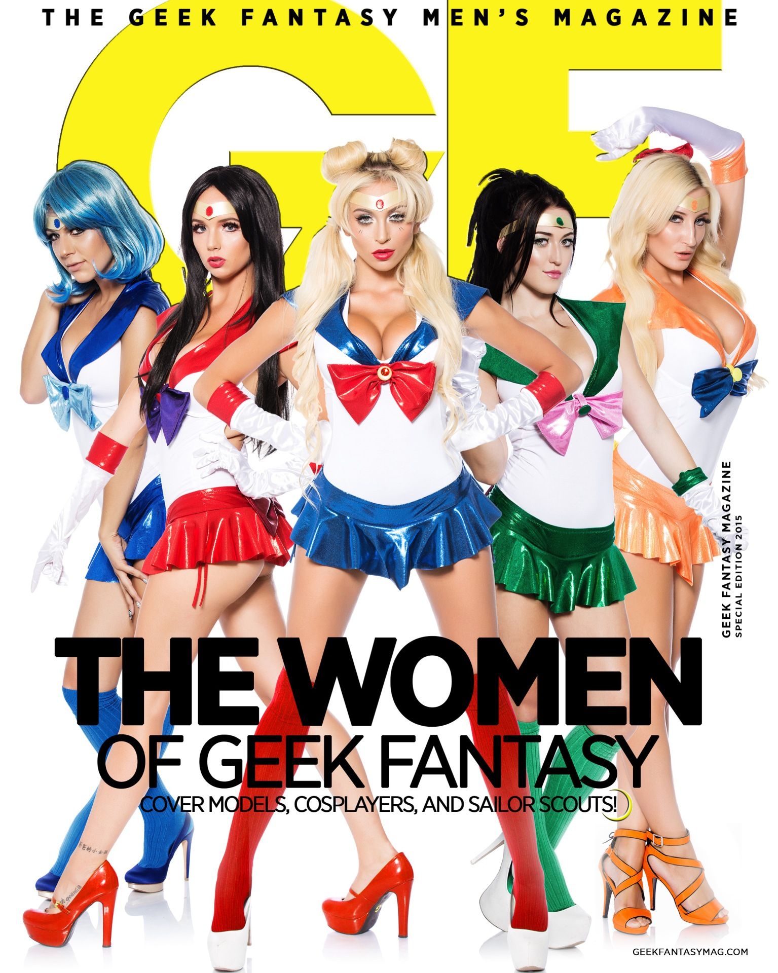 Geek Fantasy Cover Shoot!!