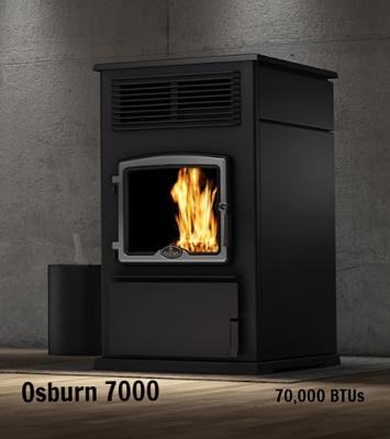 Osburn 7000 pellet stove