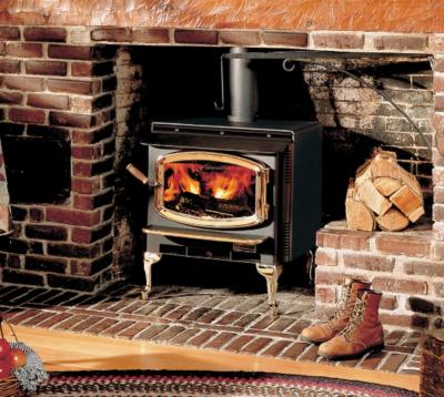 Rainier free standing wood stove