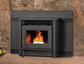 AGP wood pellet fireplace insert