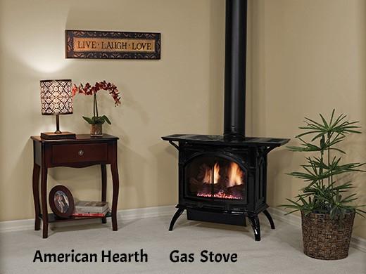 Empire Cast Iron gas stove