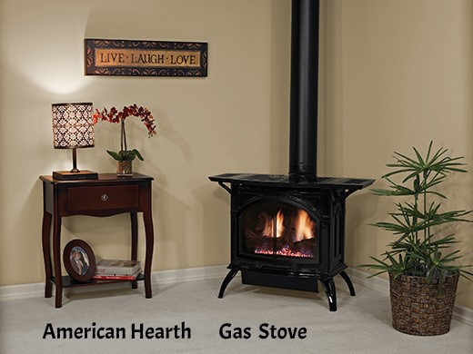 Empire Cast Iron gas stove