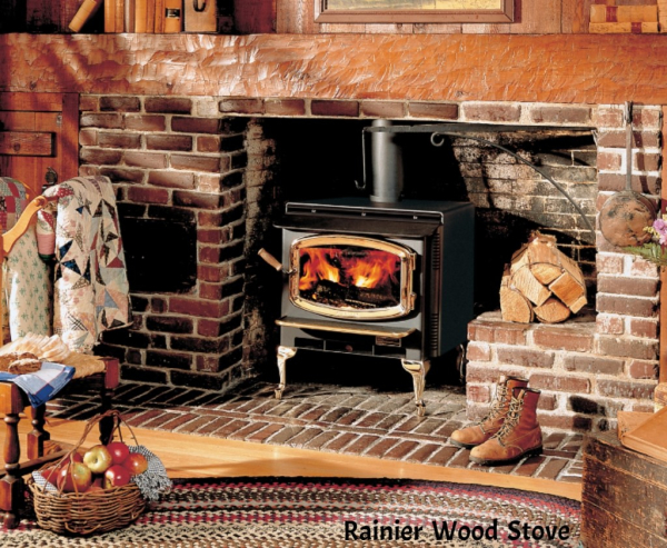 Rainier wood stove