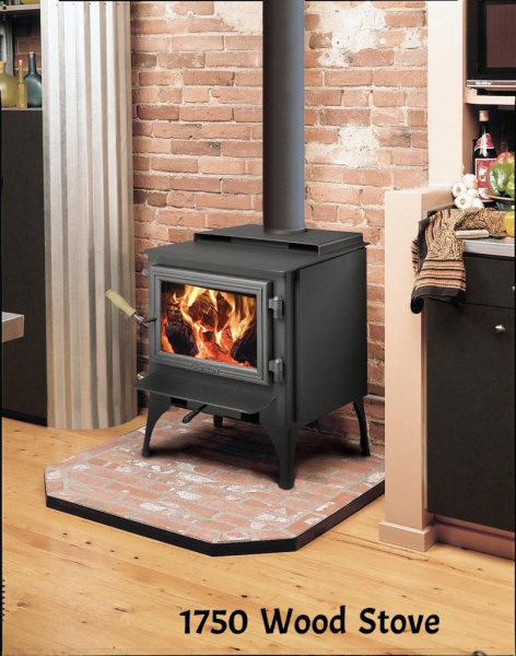 1250i Republic wood stove