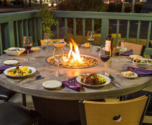 Fire Table - Let's Eat!