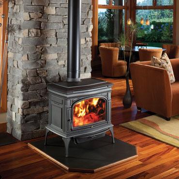 ROCKPORT wood fireplace by Lopi