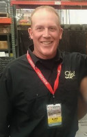 Blake Yutzler, owner- operator of RCF Stoves & Fireplaces in Boonville, NY