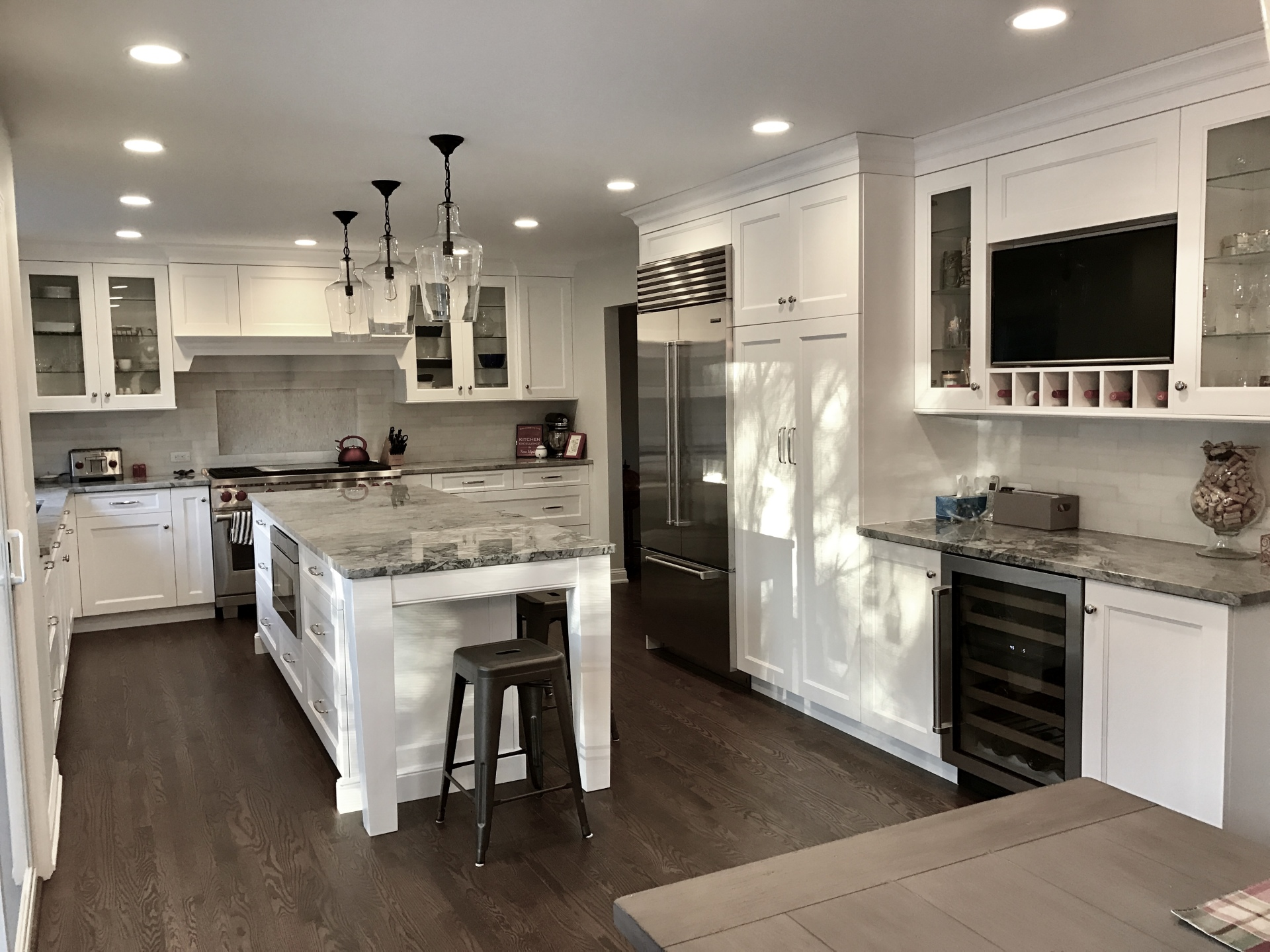 Custom Kitchen in Troy
