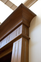 Camberwell House renovation of Victorian home. Designed by sustainable architect Green Point Design. Cabinet details.