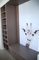 Ballarat House renovation designed by sustainable architect Green Point Design. Mudroom.