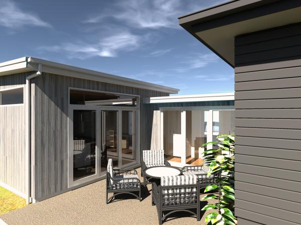 Ballarat House designed by sustainable architect Green Point Design.