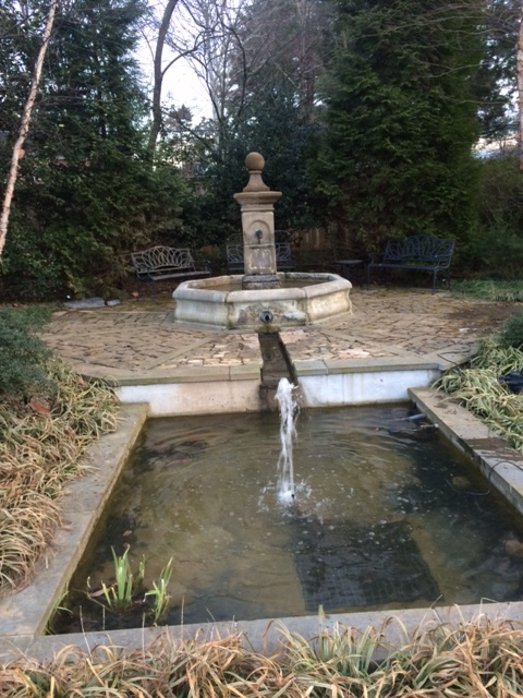 Old World Fountain