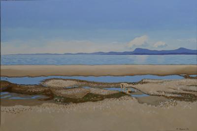 Qualicum Beach, Low Tide (SOLD)