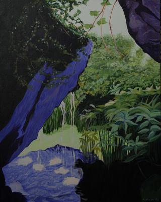In An Irish Garden #3 (SOLD)