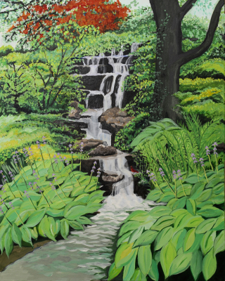High Park Waterfall   (SOLD)