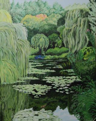 In Monet's Garden #2 (Sold)