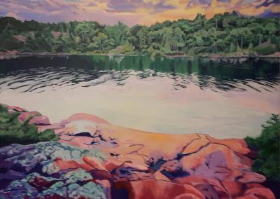 Pink rocks - Killarney, Ontario (SOLD)