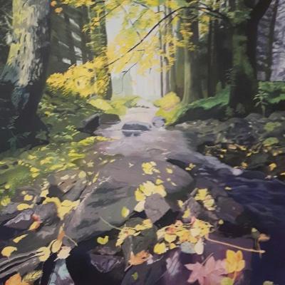 Autumn Light #2 (Sold)