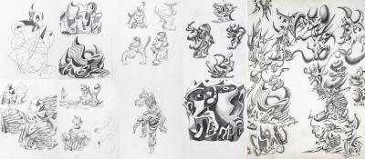 Scribble-Sketch