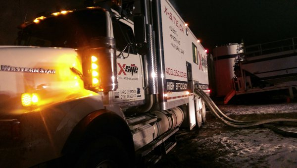 "Unit 211 Heating ""on the fly"" During Frac"