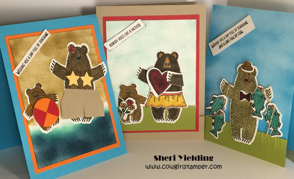 Mama Bear is Making Cards!