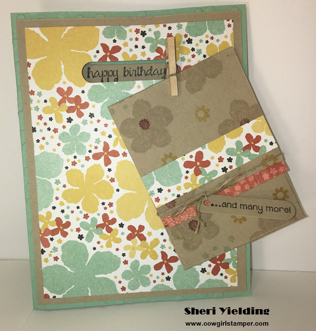 Cute Gift Card Holder Birthday Card