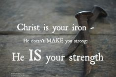 Strength of Iron