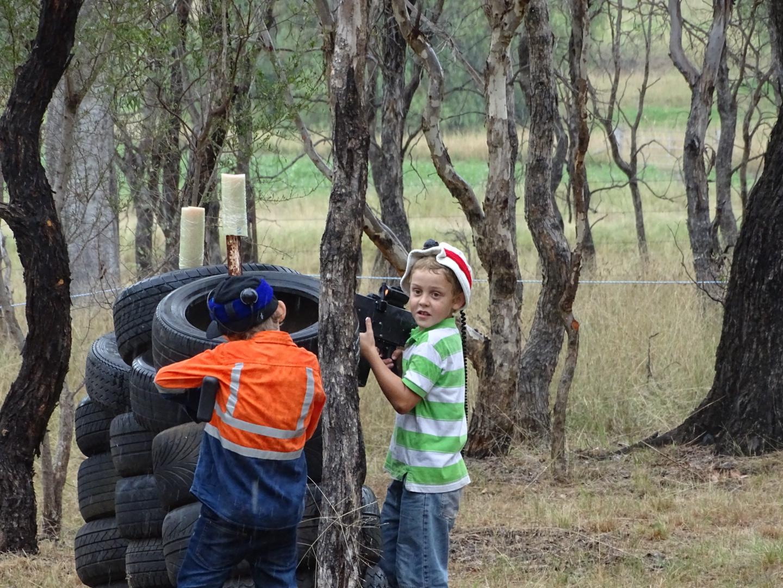Kids and family fun skirmish