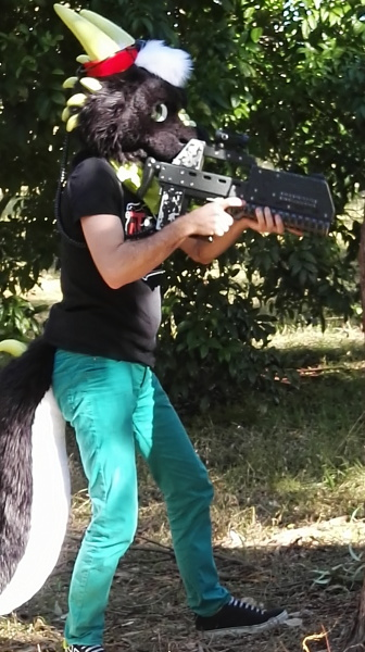 Furry Laser