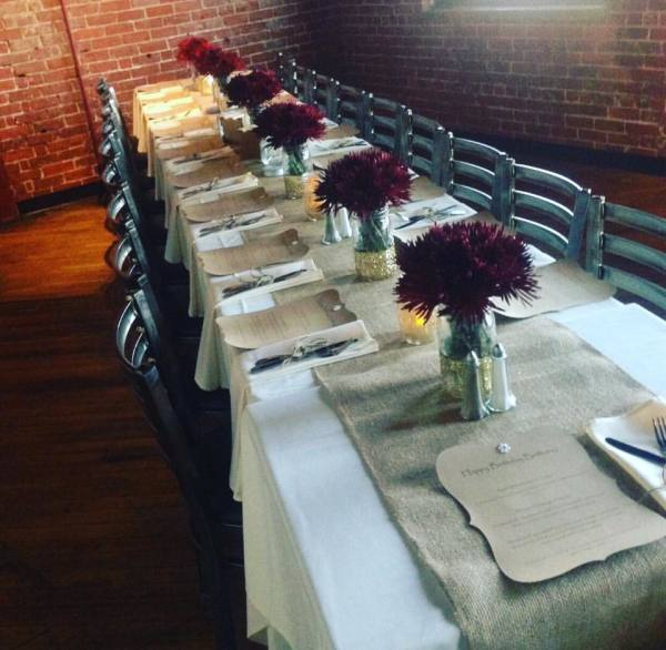 Our private event room is the perfect upscale & chic spot to host your next special event...our event coordinators strive to create and customize each event to ensure it is exactly what each guest has envisioned