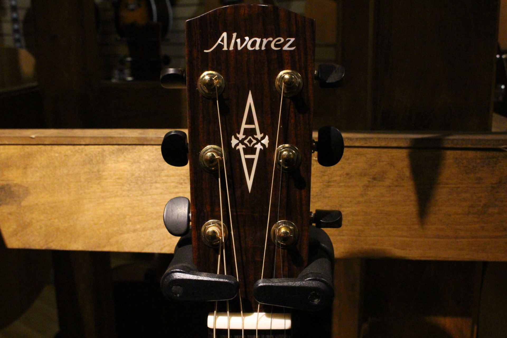 Alvarez Head Stock