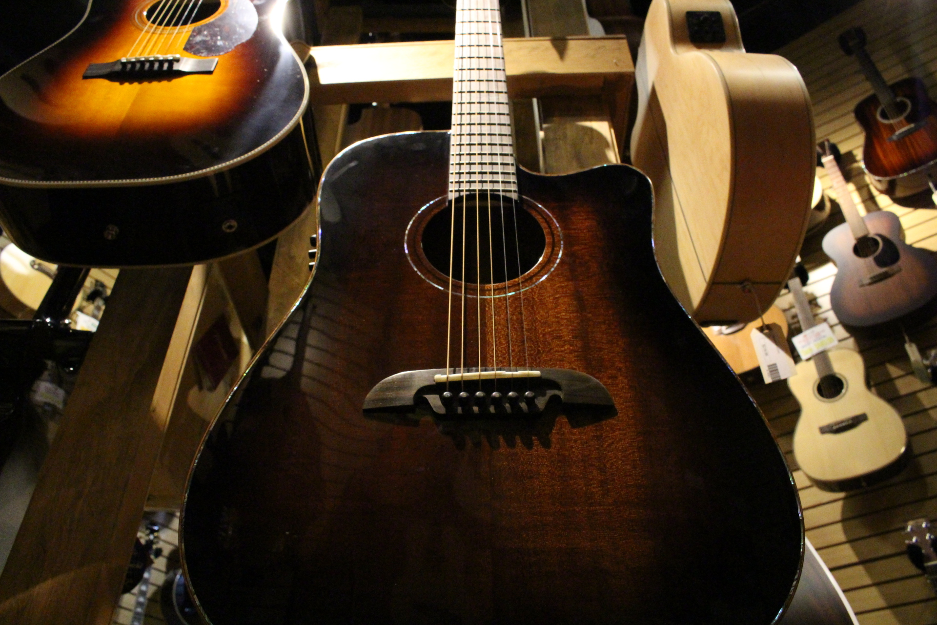 Alvarez Guitar Body