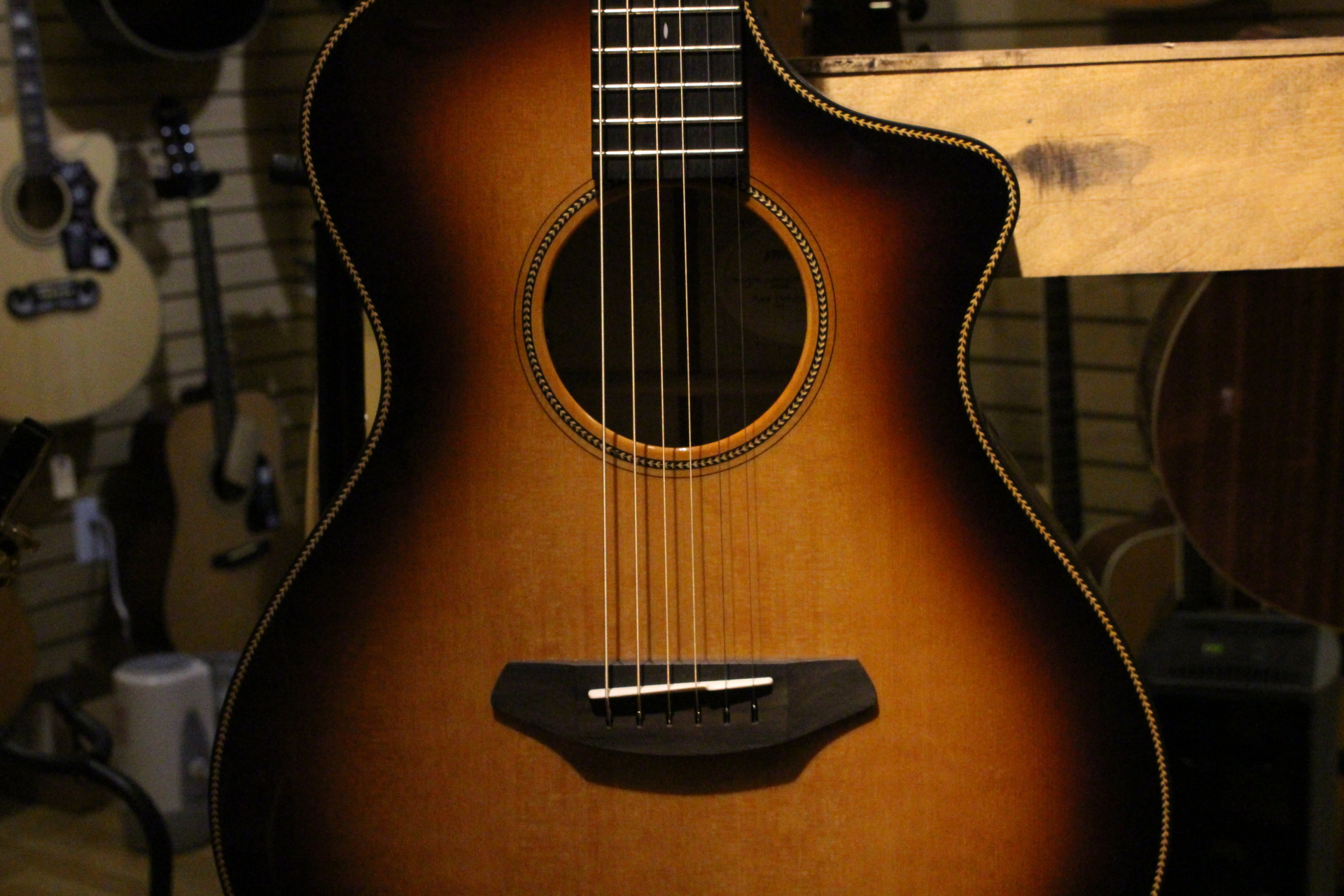 Breedlove Guitar Body