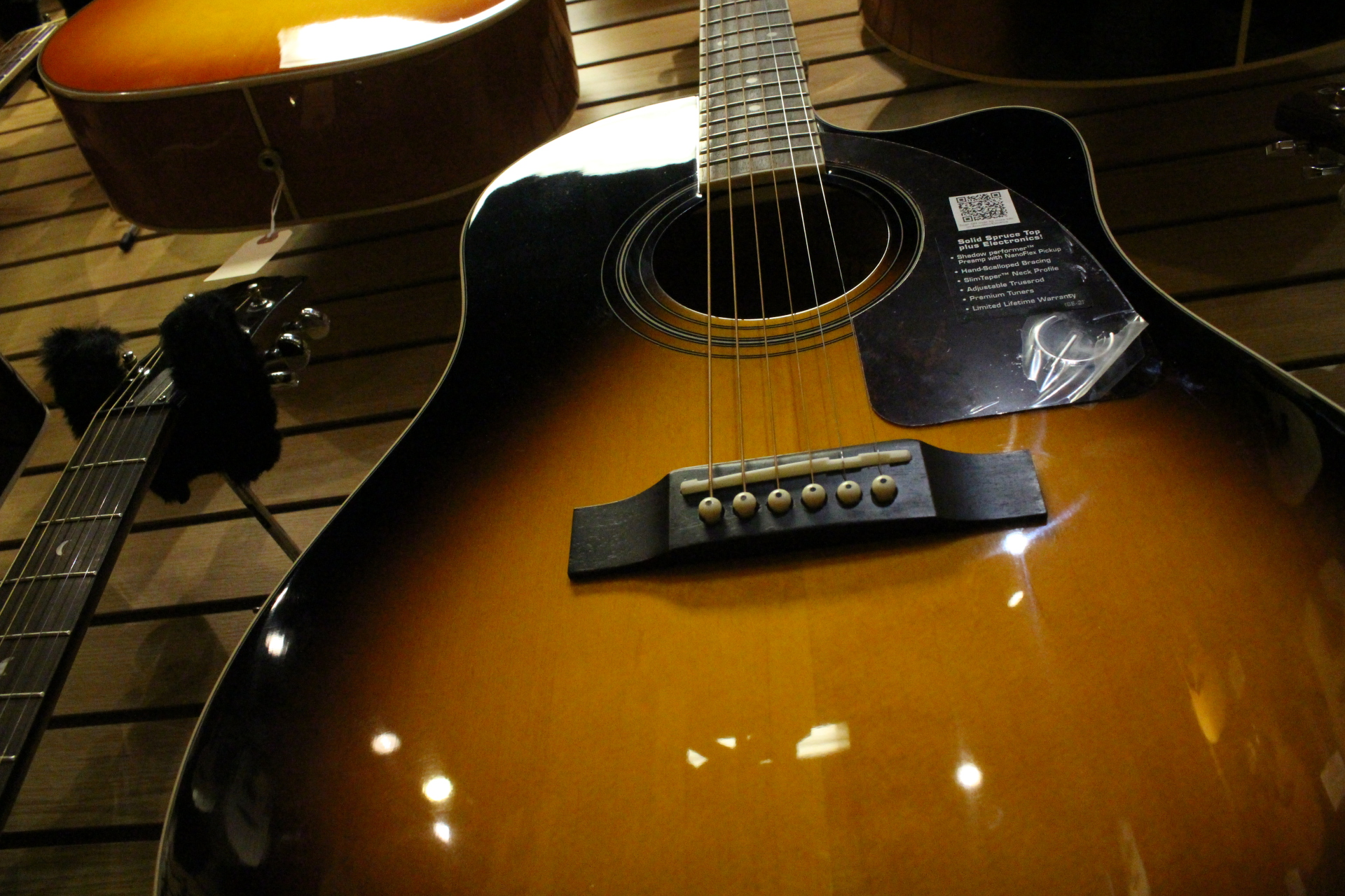 Epiphone Sunburst Body