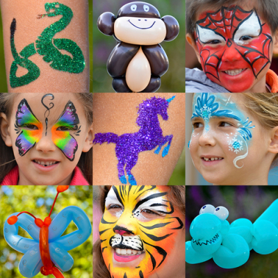 Face Painting or Glitter Tattoo