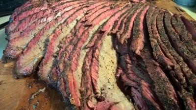 Enjoy a flavorful, tender, Texas style beef brisket