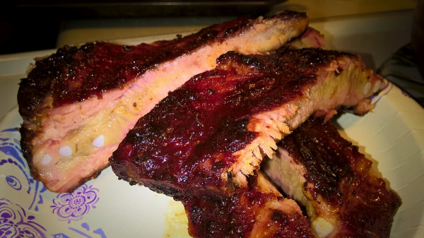 smoky, sweet, spicy, st louis, bbq, ribs, hickory