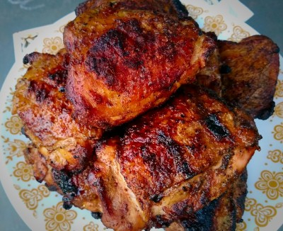 Roadside Grilled Chicken Thighs