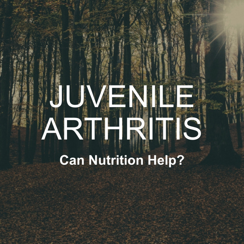 Juvenile Arthritis Awareness Month- July 2016.....Can Nutrition Help?