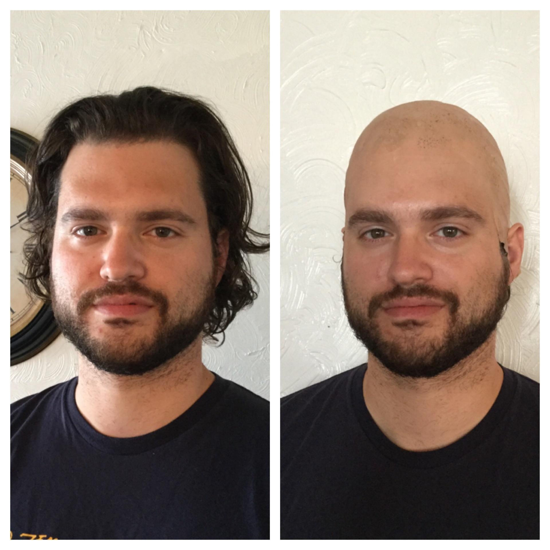 bald cap, sfx