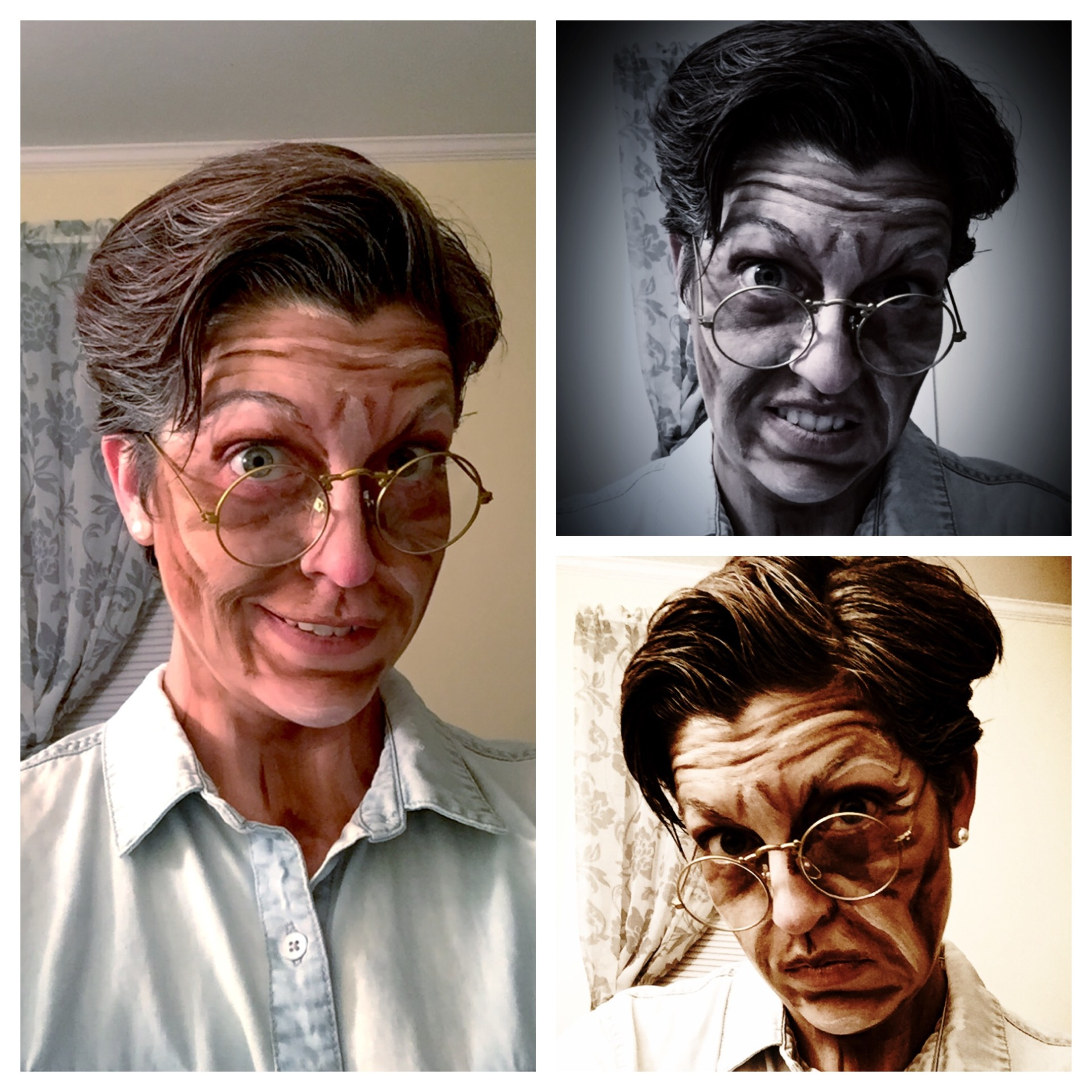 old age, theater makeup, theatre makeup