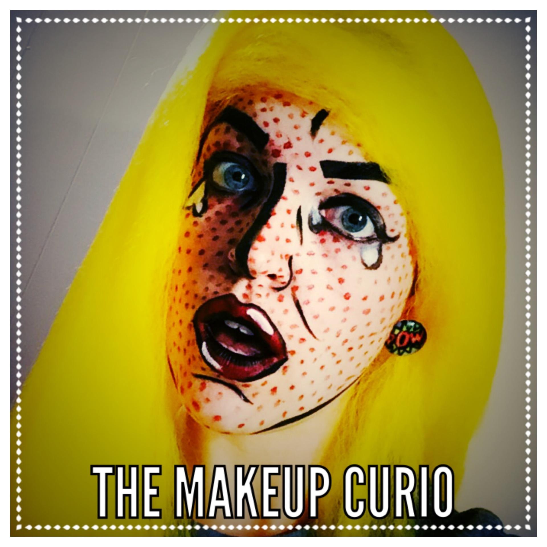 character makeup, pop art, cosplay